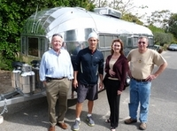 Solar Panels For Your Home >> New Custom Airstream Trailer for Matthew McConaughey