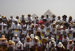 African Genesis Class of 2009 in Egypt.