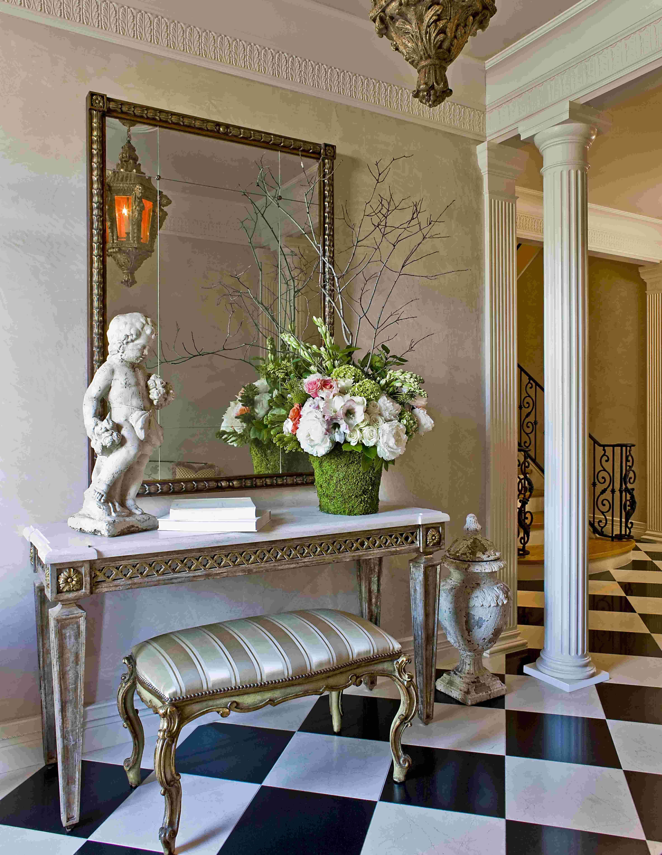 decorators of ideas foyer decorating wall home fresh decor modern interior entryway
