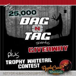 """BAG-N-TAG 25,000 FREE """"DOE IN HEAT"""" TRIAL SCENT PACKS GIVEAWAY"""