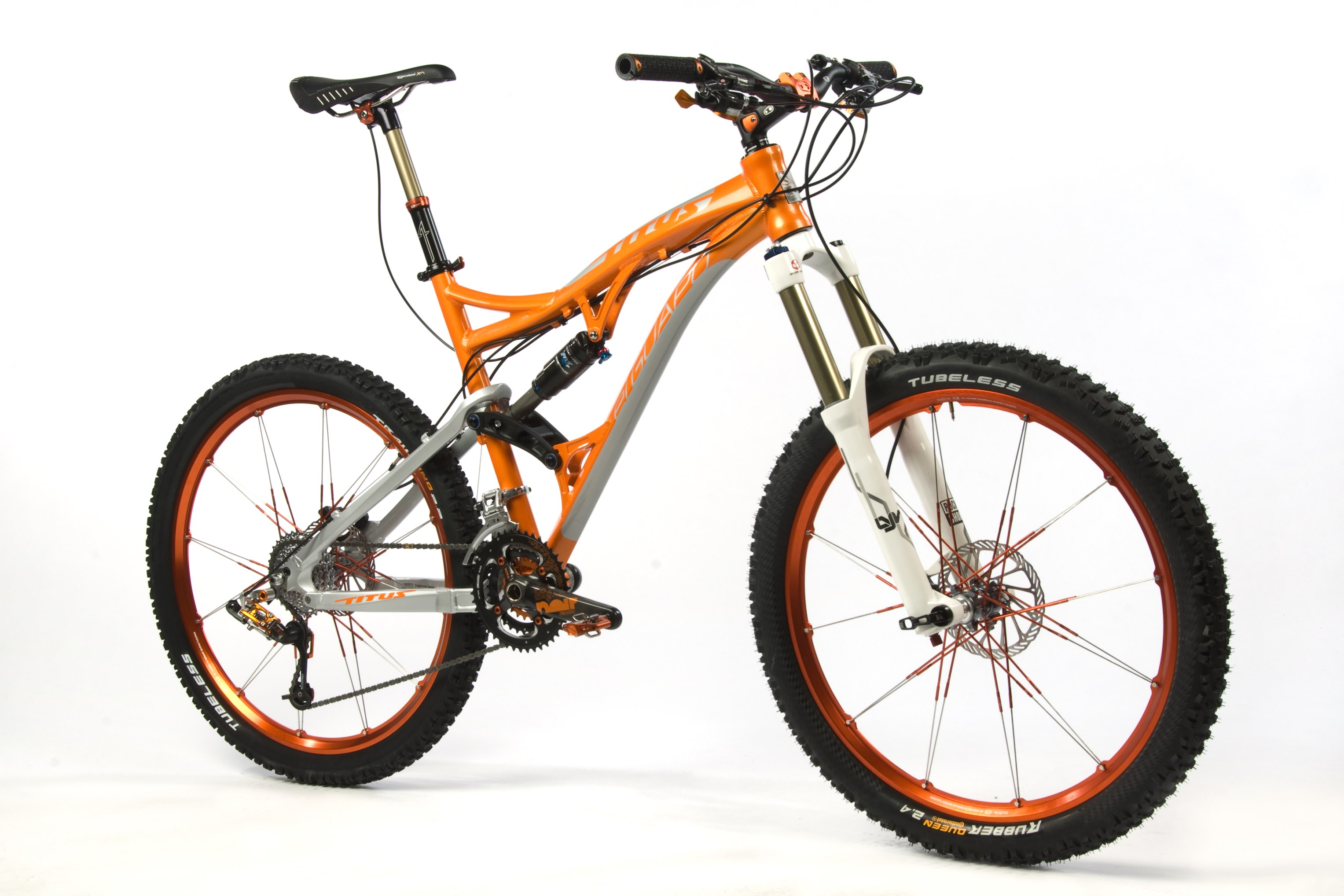The Titus El Guapo, one of ten dreambikes up for auction to help raise money ...