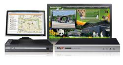 CAYIN digital signage players can playback contents based on their current locations.