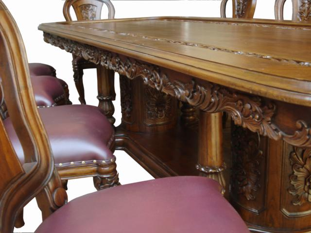 of custom hand made solid wood furniture hand carved art furniture