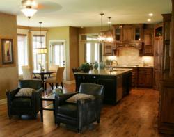 The Ashton EX kitchen area