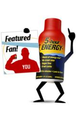 The 5-hour ENERGY Team selects 20 new featured fans!