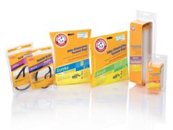 ARM & HAMMER vacuum accessories feature an easy-to-read packaging design, color-coded by brand