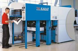 KBA 74 Karat Waterless Offset Printing Press