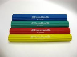 Thera-Band FlexBar is available in 4 progressive resistance levels.