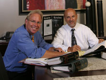 Brian Chase and John Bisnar Named Top Orange County Personal Injury Attorneys