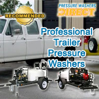 Top Professional Trailer Pressure Washers @ Pressure Washers Direct