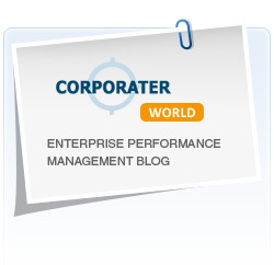 Corporater World, a dedicated business blog on Strategy, Strategy Execution, Balanced Scorecard and other subjects related to enterprise performance management