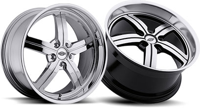 Muscle car wheels rims - photo#44