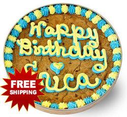 Custom Cookie Cake