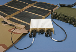 Solar Portable Alternative Communications Energy System (SPACES)