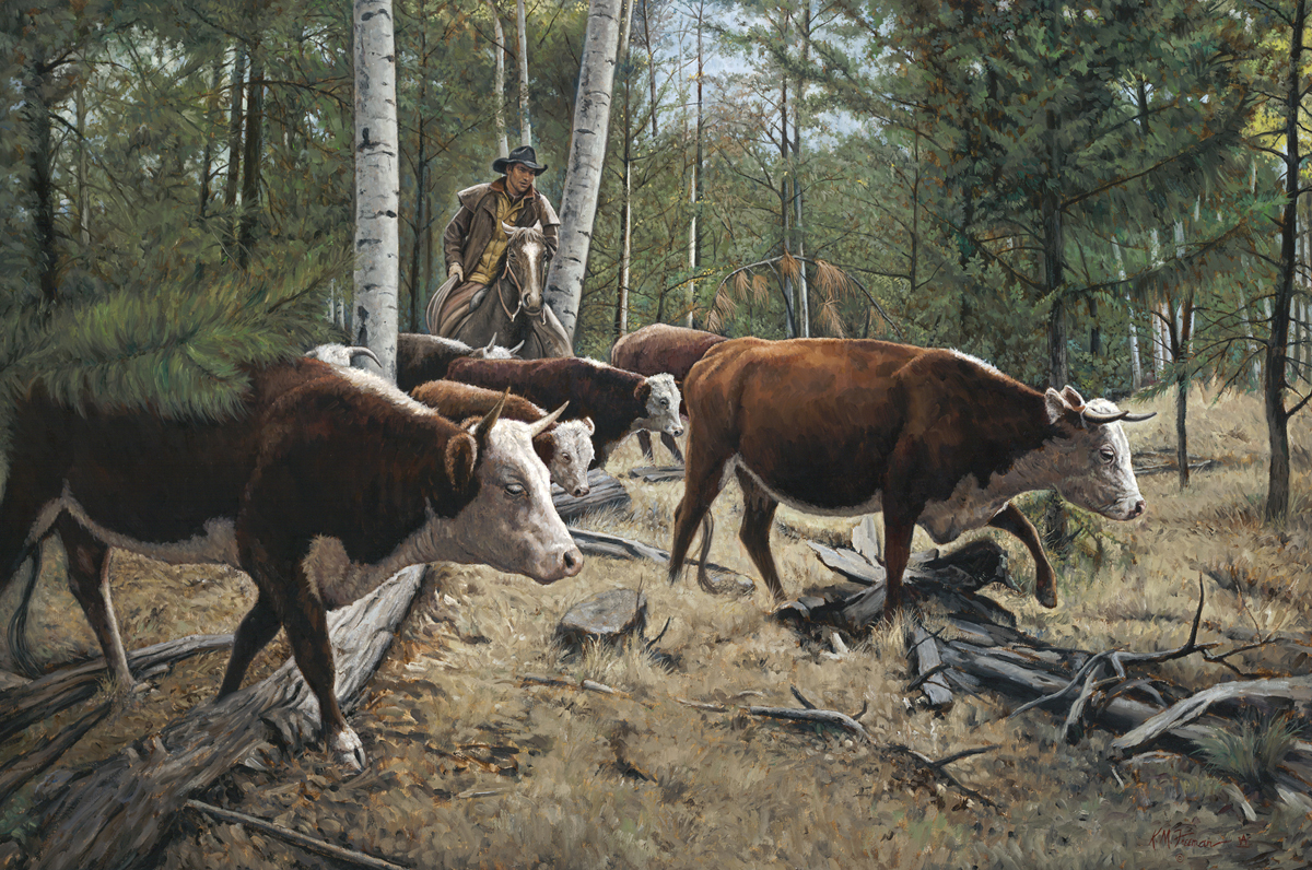 Western Art Rides High In The Saddle At Pearce Museum