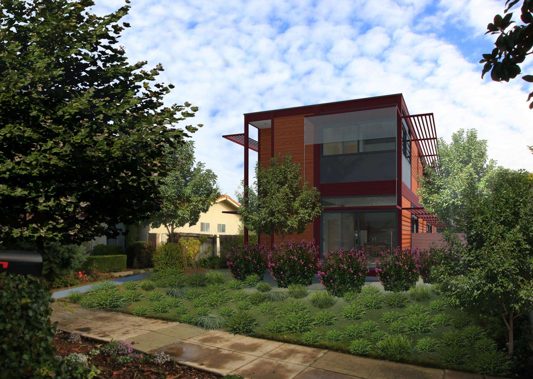 Today in the Bay Area (Los Altos) LivingHomes Installs Modern ...