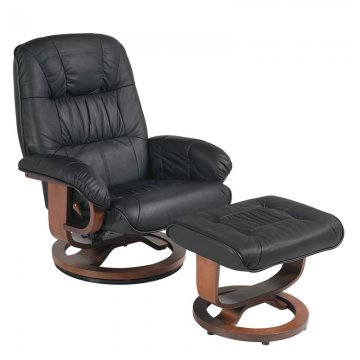 black leather recliner black leather recliner by stanley chair