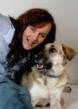 Author Tiffany Ann Laufer & her muse Bella  (Photo Bellaboo Books, 2010)