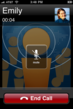 Free VOIP calling with WhosHere Voice - No Phone Numbers Used or Publsihed