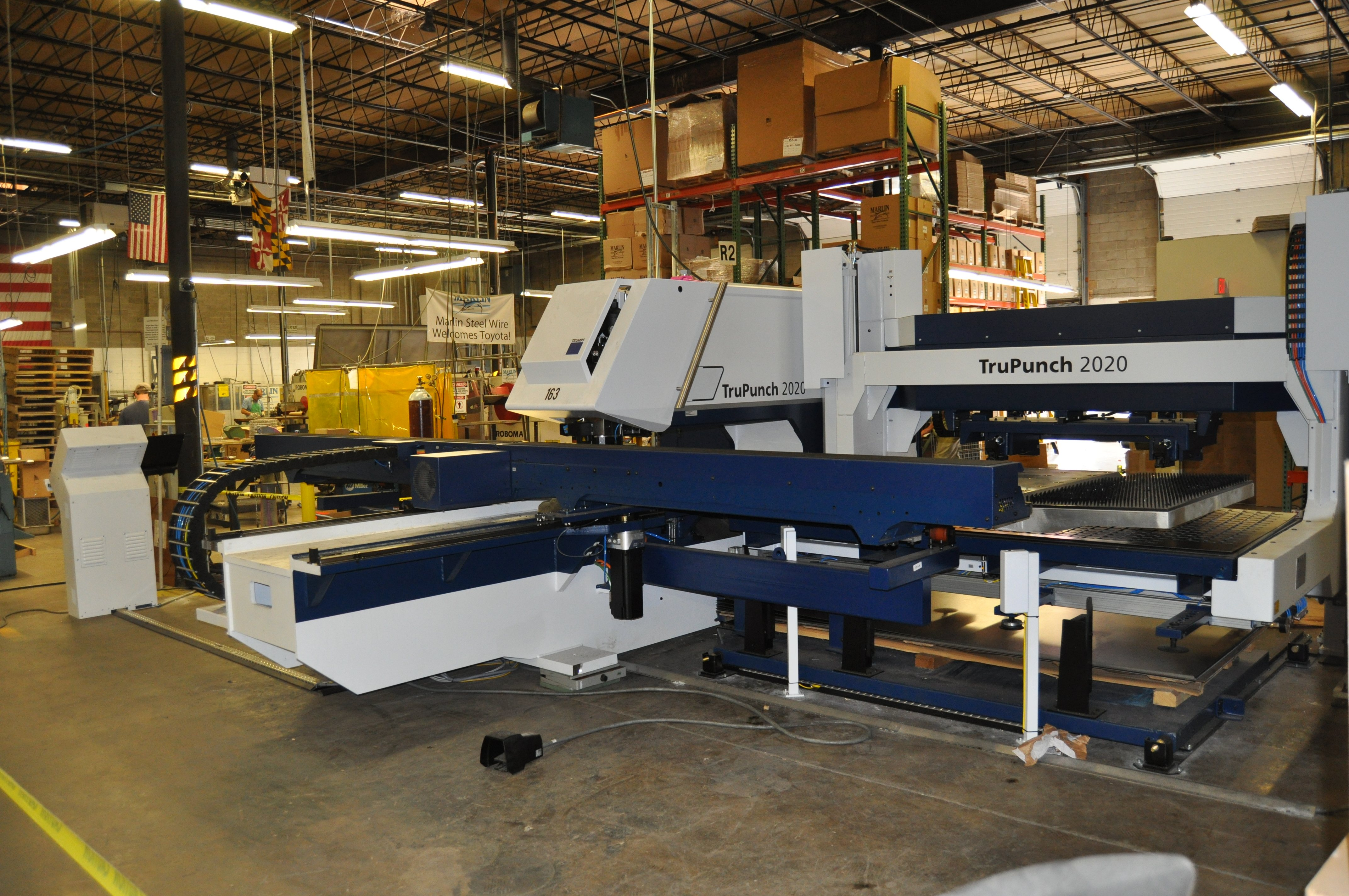 Marlin Steel Wire Expands Manufacturing Space By 75