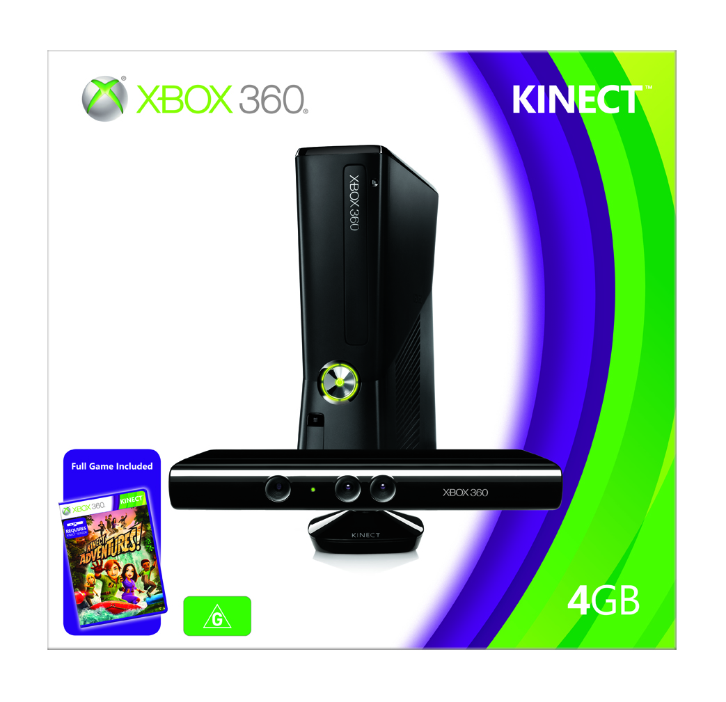 Revolution in entertainment arrives down under with kinect for xbox 360 - Xbox 360 console kinect bundle ...