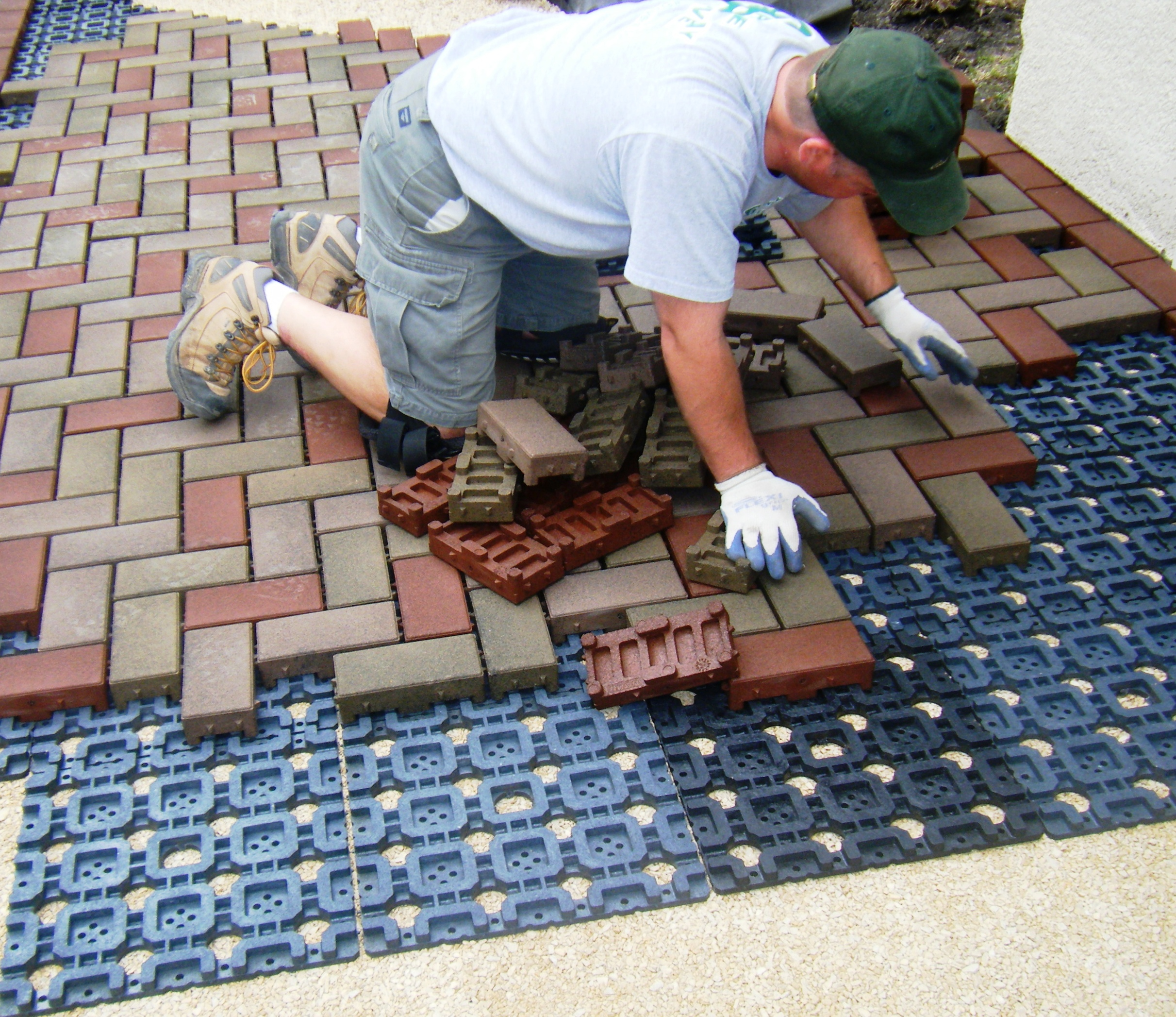 Vast 174 Composite Permeable Pavers Voted Best Exterior