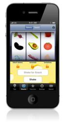Shake a Snack App for iPhone and iPod touch