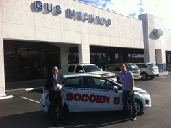 soccer 5 announces auto partnership with gus machado ford to drive soccer in miami. Black Bedroom Furniture Sets. Home Design Ideas