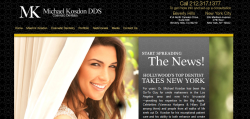 Dr. Michael Kosdon Manhattan New York City cosmetic dentist
