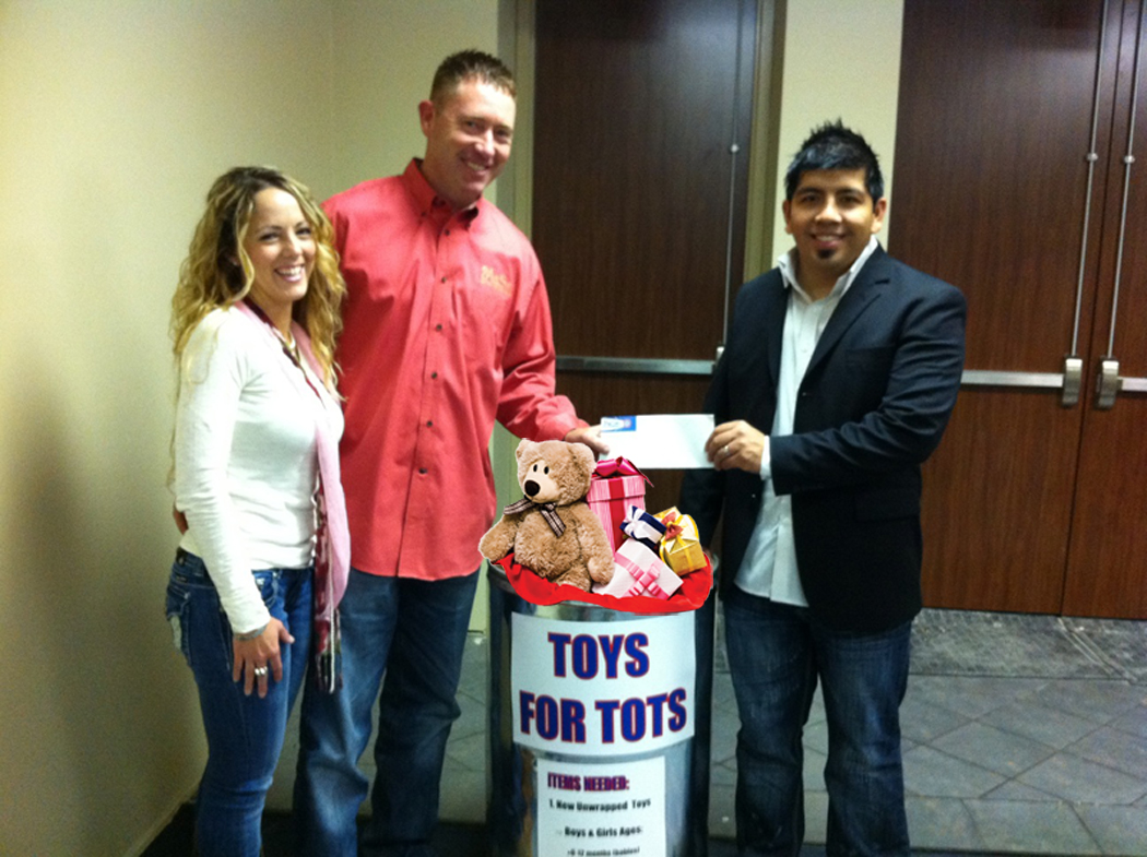 Toys For Tots Family : Victoria texas air conditioning company teams up with toys