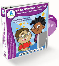 TeachTown Basics 2.0 Software and Binder On Computer Lessons and Off Computer Activities