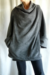 Luxurious Fleece Wrap/Jacket - The Kozy Kape! A New Way to Snuggie ...