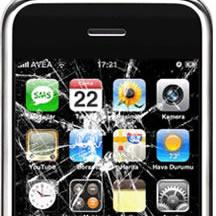 broken iphone touch screen