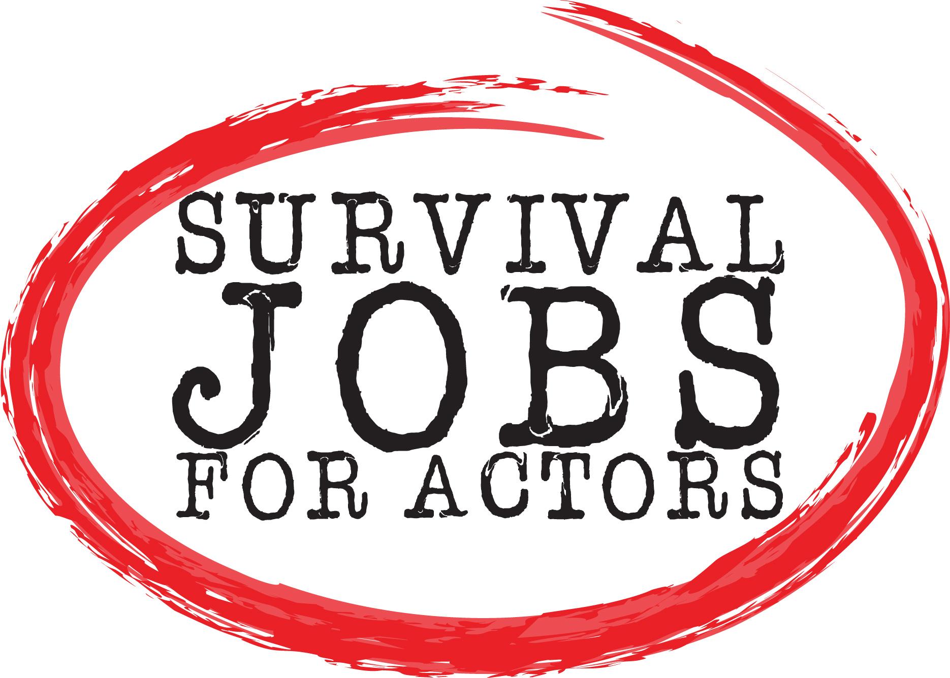 actress logo edandca survival jobs f