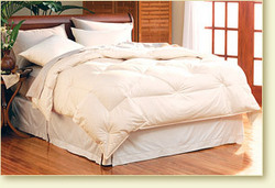 Luxury down bedding