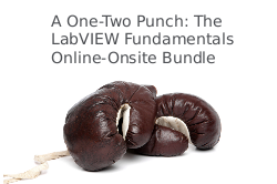 A One-Two Punch: The LabVIEW Fundamentals Online-Onsite Bundle