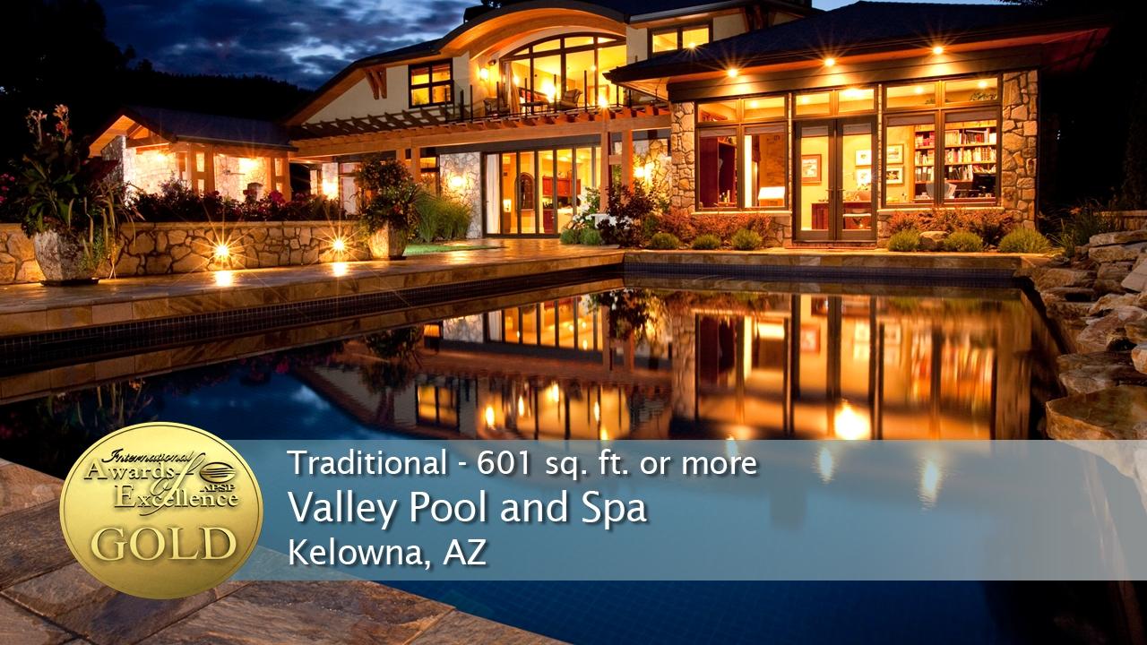 Kelowna Pool Builder Wins Four International Awards On