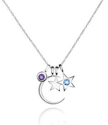 Luna stella introduces moon stars birthstone charm for Luna and stella jewelry