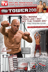 Tower 200 With 200lbs. Of Explosive Resistance And Over 200 Exercises!