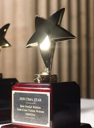 AlphaZeta, Inc. Wins Two Chicago Interactive Association Star Awards for Gold Coast Tickets E-Commerce Website