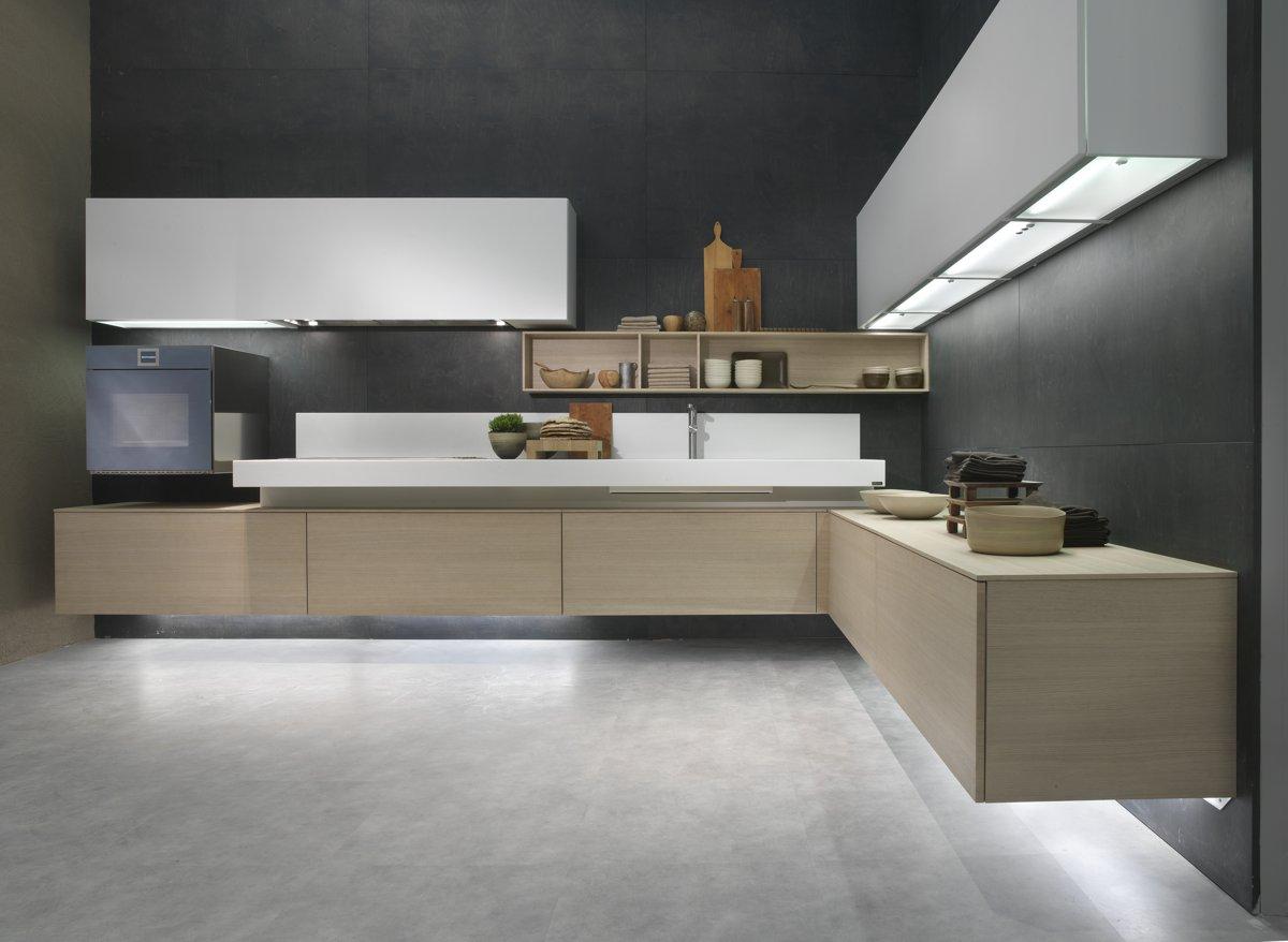 Modern italian kitchens the new models of composit for Italian kitchen models