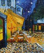 Van Gogh's Cafe Terrace oil painting