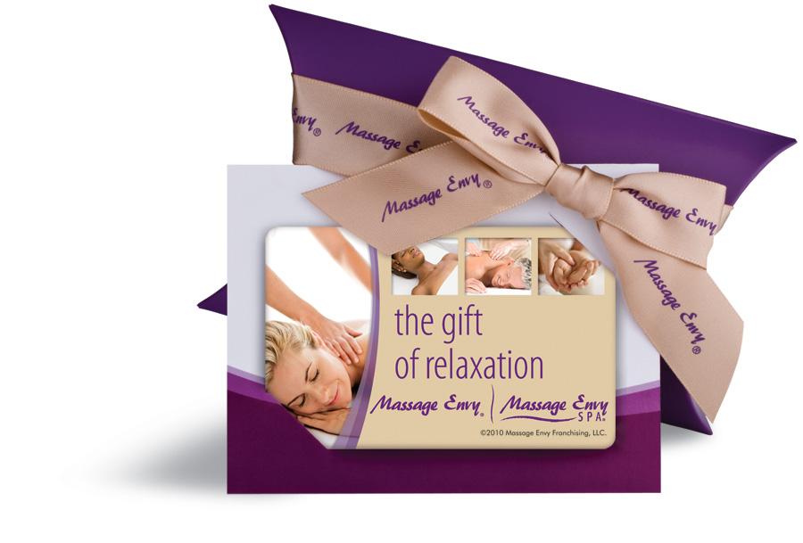 Envy massage membership - Gun dog supply coupon