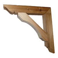 Architectural Exterior Wood Brackets Now Available At Flower Window Boxes Inc