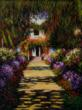 Claude Monet Garden oil painting