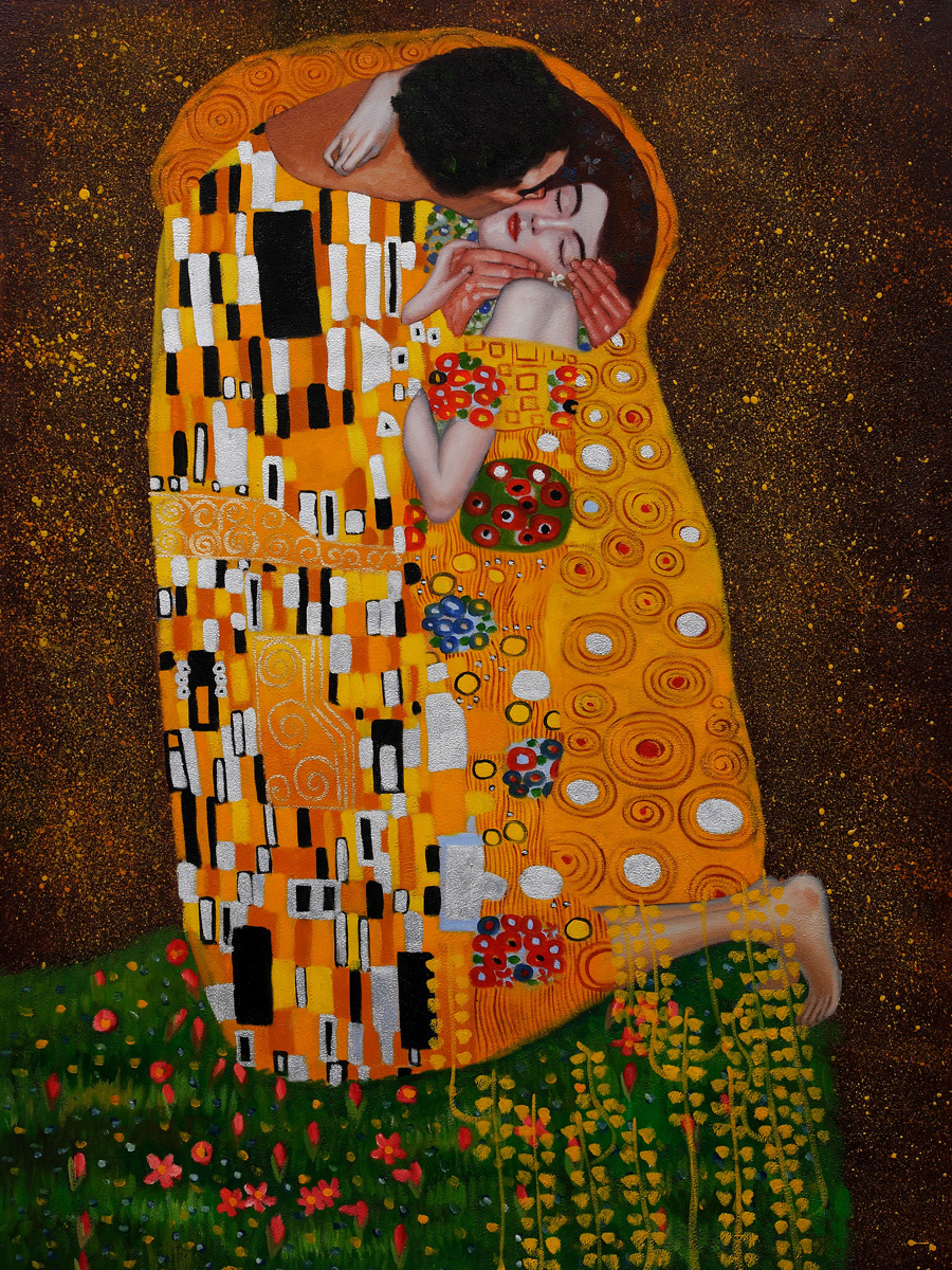 the kiss klimt Shop for gustave klimt 'the kiss' stretched canvas get free delivery at overstockcom - your online art gallery store get 5% in rewards with club o - 4393264.