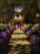 """Garden Path at Giverny"" – Claude Monet"