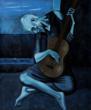 """The Old Guitarist"" – Pablo Picasso"