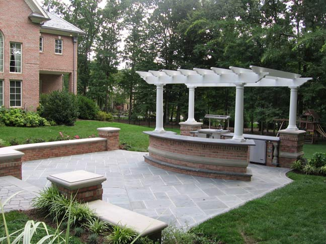 New jersey outdoor living space company wins big in 2010 for Outdoor spaces landscaping