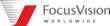 FocusVision Worldwide Logo